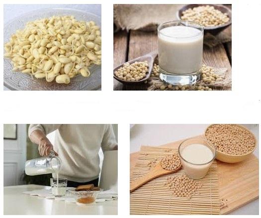 Làm sữa mầm đậu nành cũng rất dễ thực hiện