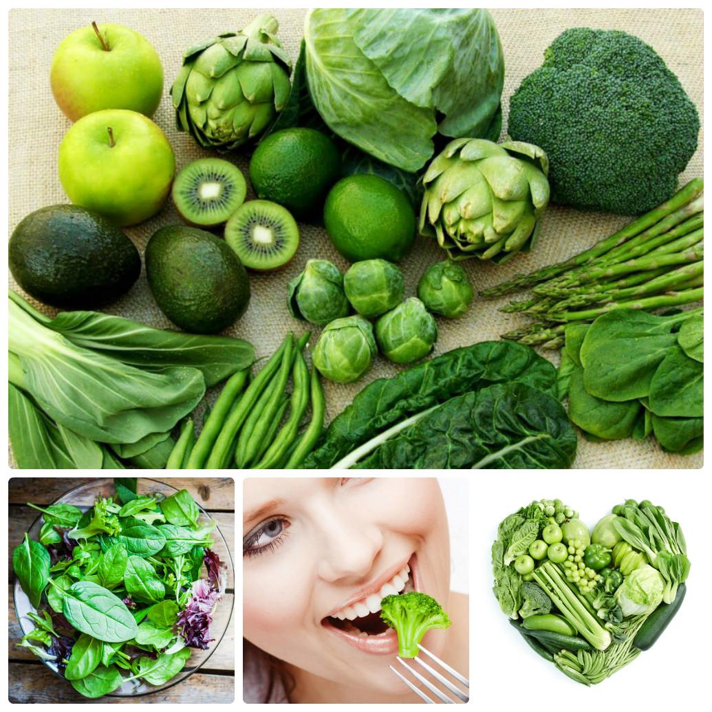 Các loại rau có màu xanh rất tốt cho vòng ngực phát triển