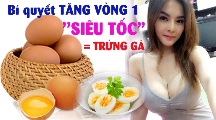Cách tăng vòng 1 bằng trứng gà – tổng hợp những mẹo tốt nhất