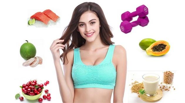 Có nhiều loại thực phẩm tăng vòng 1 hiệu quả cho phái đẹp