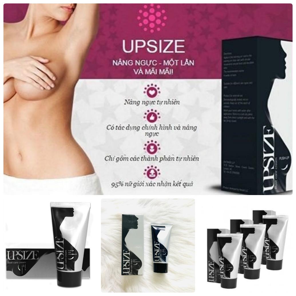Kem nở ngực Upsize có nguồn gốc từ Nga cũng rất dễ sử dụng