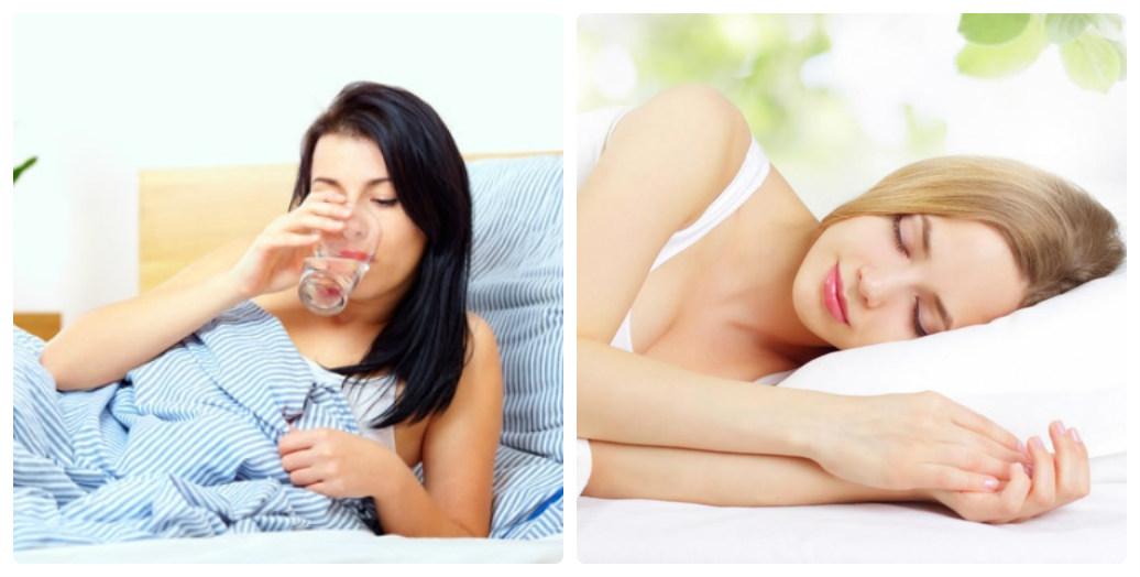 Uống đủ nước và ngủ đủ giấc để đảm bảo cho vòng 1 nảy nở nhé