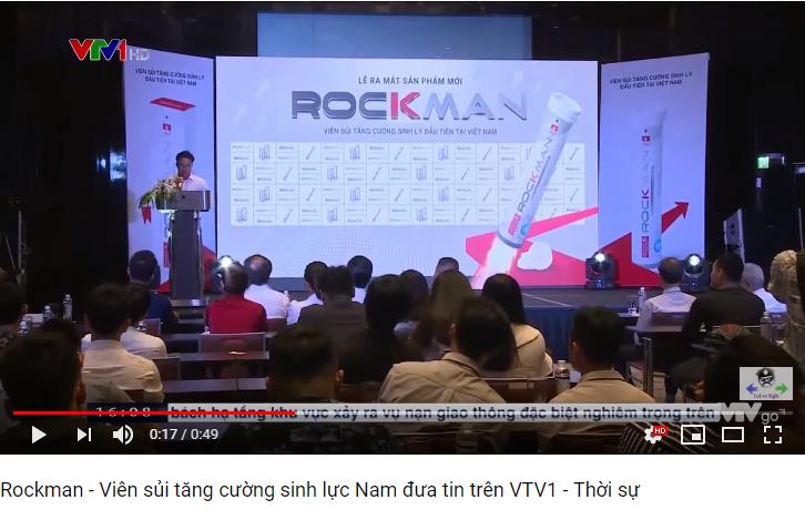 VTV1 nói về viên sủi rockman