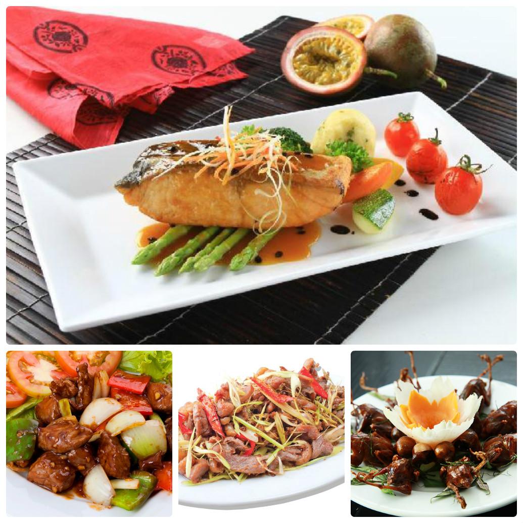 Món ngon từ cá hồi hay bò, thịt chim cũng rất bổ dưỡng cho nam giới