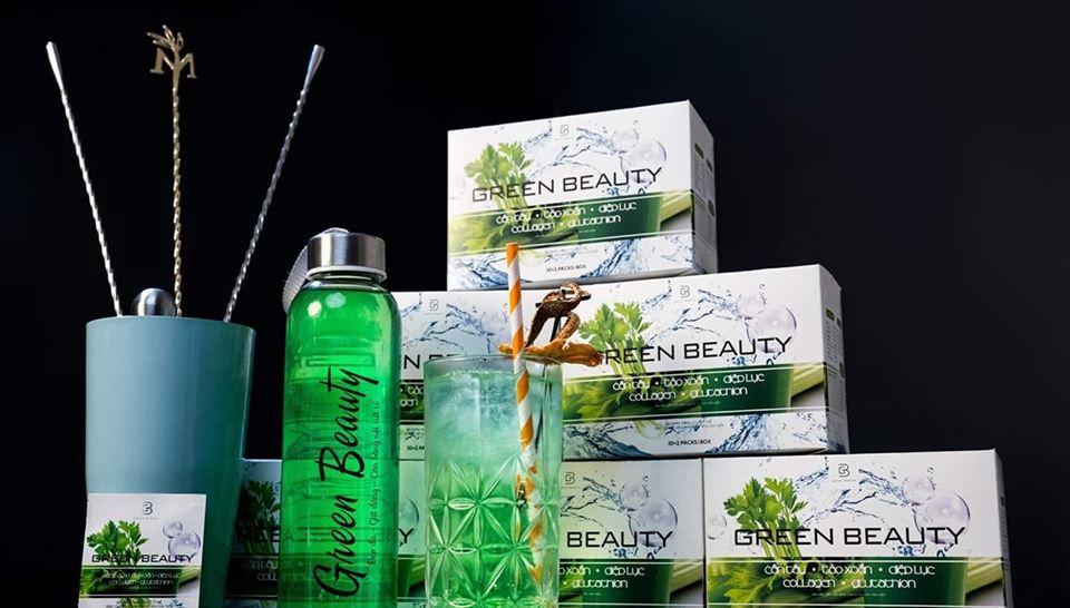 Sản phẩm nước ép cần tây Green Beauty