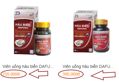 Giá bán của sản phẩm