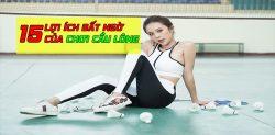 lợi ích của việc chơi cầu lông